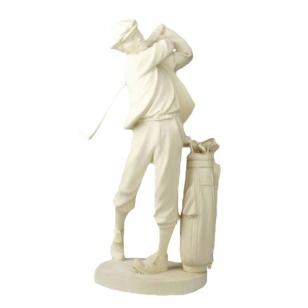 Socha golfový hráč