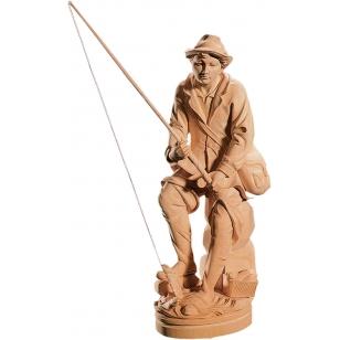 Socha rybář
