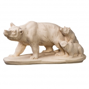 Soška medvědí rodinka