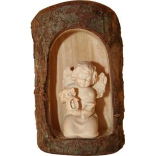 Dřevěná socha anděl Diana s...