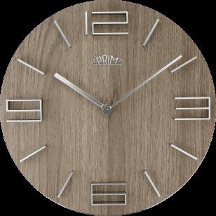 Nástěnné hodiny PRIM Timber...