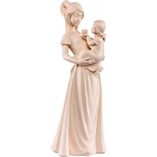 Socha žena s dítětem