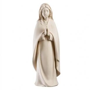 Drevená socha Panna Maria...