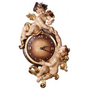 Dřevěné hodiny Anděli