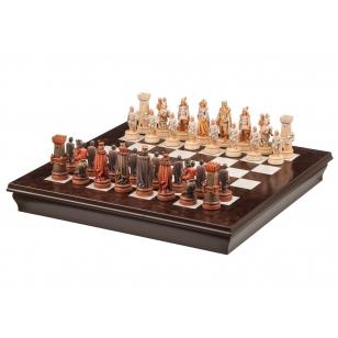 Šachovnice ze dřeva