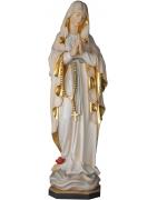 Dřevěné sochy panny Marie na prodej z přírodního dřeva nebo malované.